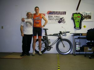 Colin and Armand at Wind Tunnel