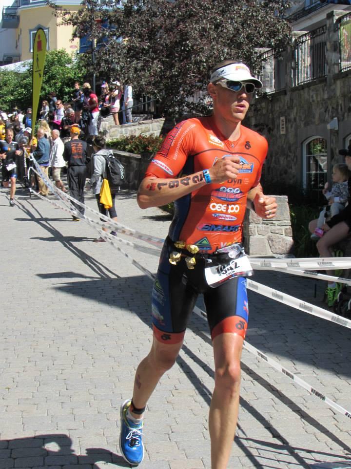 70.3 Worlds Run Finish